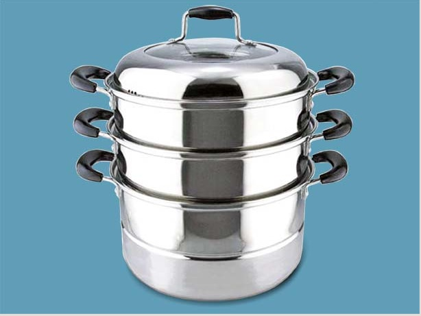 Cooking Pot Steamer ~ Loci company cookware for steam cooking
